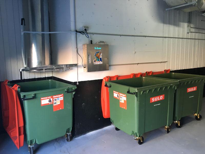 Garbage Room Odour Control Deodoriser For Bin Storage Rooms